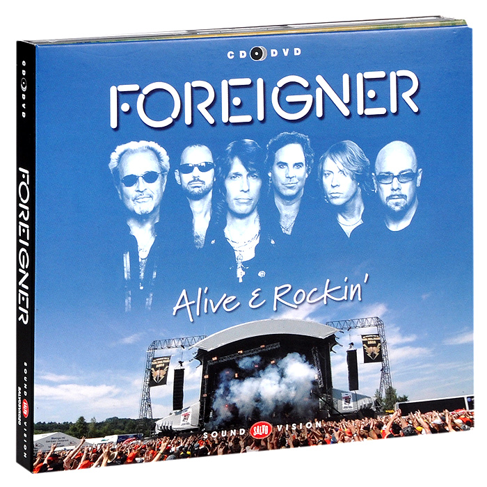 Foreigner Foreigner. Alive & Rockin' (CD + DVD) alive or just breathing cd