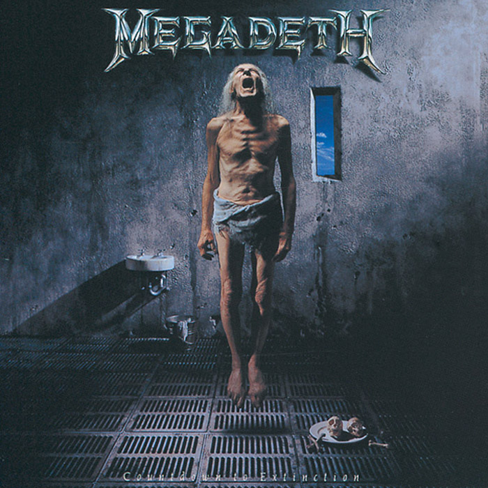 Megadeth Megadeth. Countdown To Extinction fantasy inc prestige records