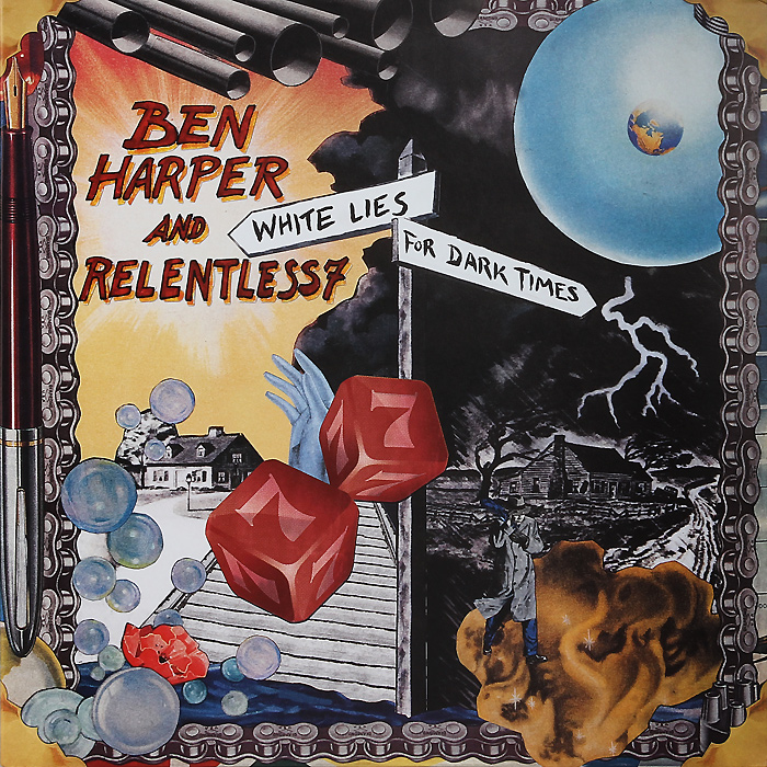 Бен Харпер,Relentless7 Ben Harper And Relentless7. White Lies For Dark Times (2 LP) compatible projector lamp for sanyo 610 342 2626 poa lmp125 plc wtc500l plc xtc50l plc wtc500al