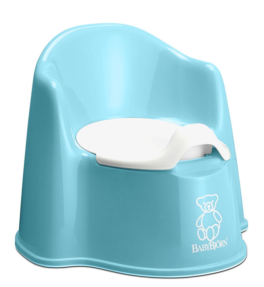 Горшок-кресло  BabyBjorn , цвет: бирюзовый - Уход и здоровье