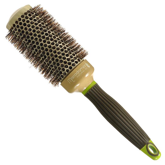 Macadamia Natural Oil Брашинг, 4,3 смSatin Hair 7 BR730MNБрашинг Macadamia Natural Oil предназначен для укладки длинных и густых волос. Отлично подходит для создания объема у корней, придания формы, как при выпрямлении, так и при создании локонов. Основа с керамическим покрытием. 100% натуральная щетина. Характеристики:Материал: щетина, керамика, пластик. Диаметр брашинга: 4,3 см. Производитель: США. Товар сертифицирован.