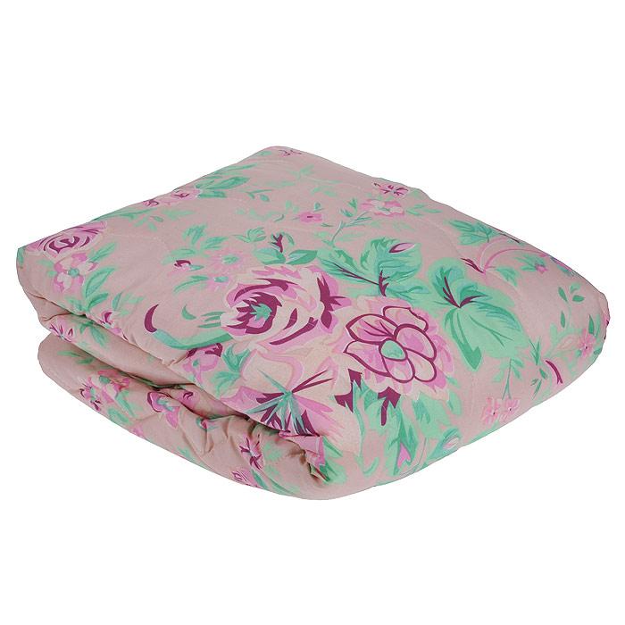 Покрывало стеганое Ноты счастья, цвет: розовый, 210 см х 240 смПнс-180-200Изящное стеганое покрывало Ноты счастья изготовлено из микрофибры розового цвета с красочным цветочным рисунком. Внутри - наполнитель из синтепона и спандбонда. Такое покрывало гармонично впишется в интерьер вашего дома и создаст атмосферу уюта и комфорта. Мягкое и теплое, покрывало может быть использовано в качестве одеяла: наполнитель из синтепона прекрасно сохраняет тепло.