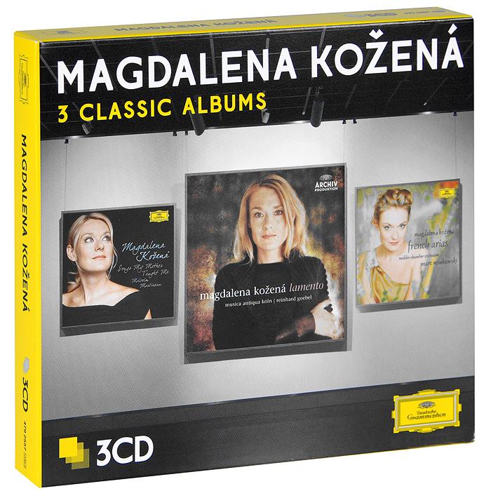 Magdalena Kozena. Three Classic Albums (3 CD)
