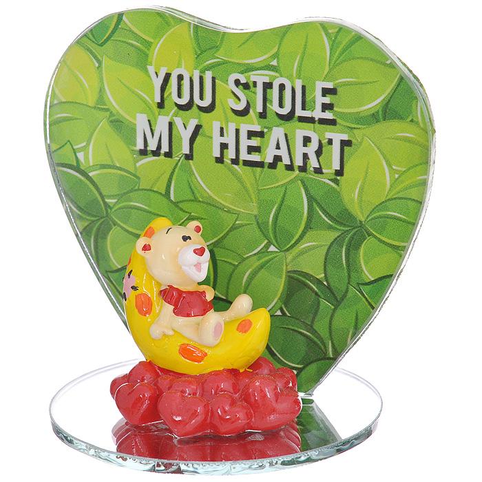 Фигурка декоративная Мишка-валентинка. 123438 фигурка декоративная мишка валентинка цвет красный 123437