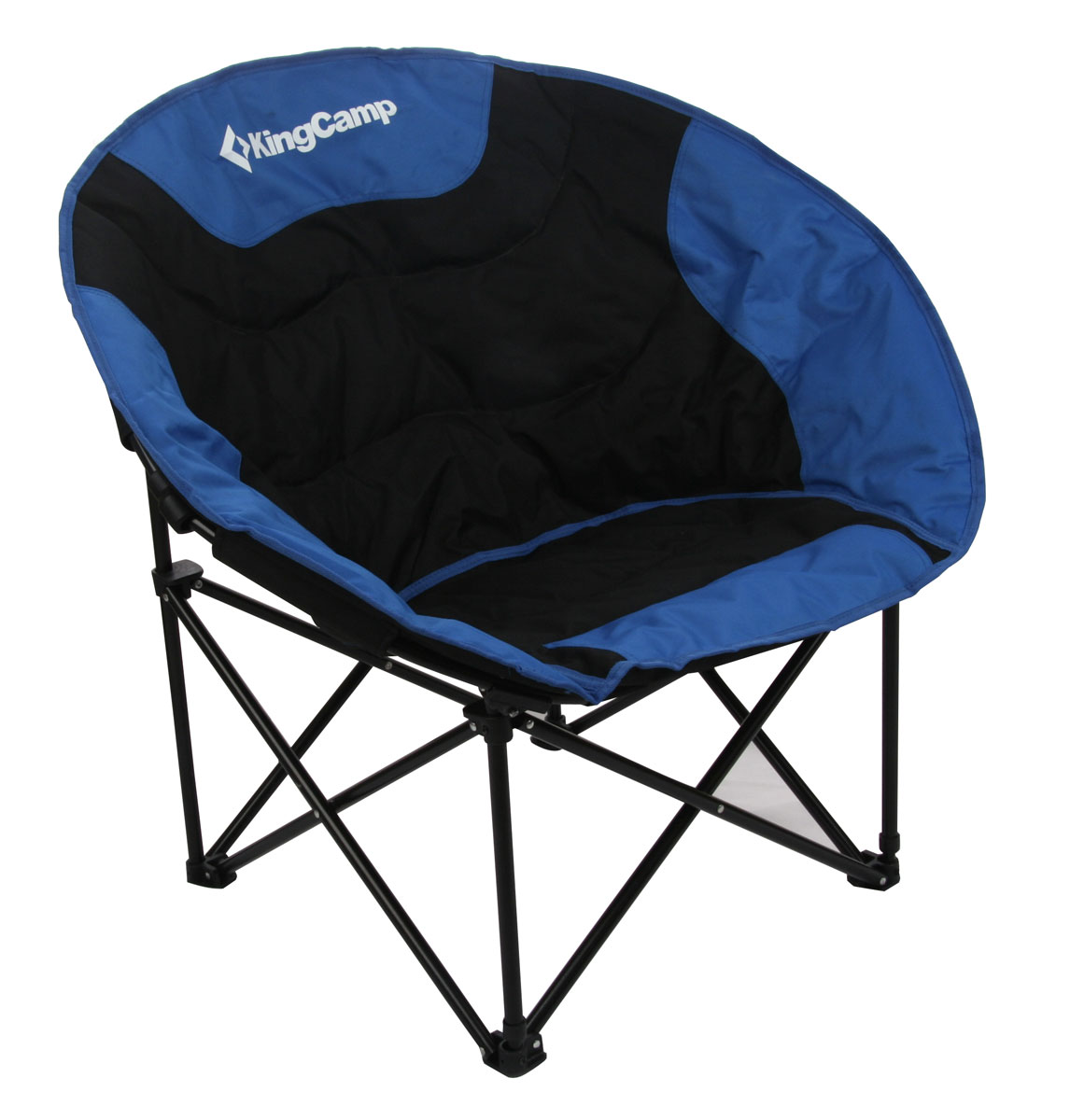 Кресло складное KingCamp Moon Leisure Chair, цвет: синийУТ-000049532Складное круглое кресло KingCamp Moon Leisure Chairс широким сиденьем - незаменимый предмет в походе, на природе, на рыбалке, а также на даче. Кресло имеет прочный металлический каркас и покрытие из текстиля, оно легко собирается и разбирается и не занимает много места, поэтому подходит для транспортировки и хранения дома. Для большего удобства к креслу прилагается чехол для хранения с удобной ручкой. Характеристики: Размер в разложенном виде: 84 см х 70 см х 80 см. Высота спинки сиденья: 38 см. Размер в сложенном виде: 90 см х 18 см х 13 см. Материал: полиэстер 600DOxford PVC, сталь. Наполнитель: пена PVC. Вес: 4,5 кг. Производитель: Китай. Артикул: 3816.УВАЖАЕМЫЕ КЛИЕНТЫ! Обращаем ваше внимание на возможные незначительные изменения в дизайне, связанные с ассортиментом продукции: оттенок товара может отличаться от представленного на изображении. Поставка осуществляется в зависимости от наличия на складе.