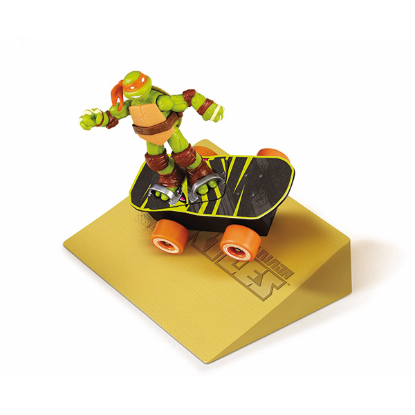 Суперскейт Turtles, с рампой