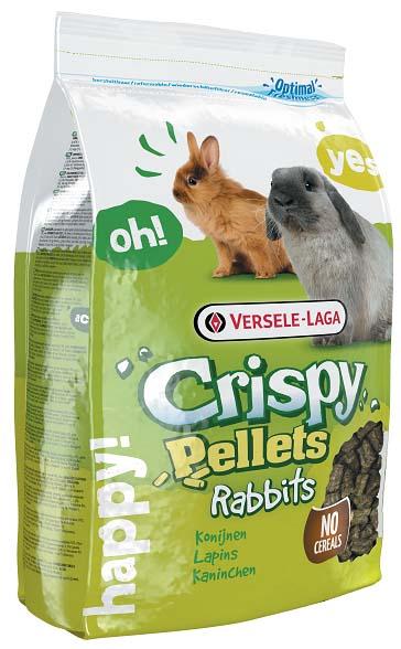 Корм гранулированный для кроликов Versele-Laga Crispy Pellets Rabbits, 2 кг12222480Versele-Laga Crispy Pellets Rabbits - основной полнорационный гранулированный корм для кроликов. Специальная форма гранул стимулирует инстинкт жевания, а дополнительное содержание клетчатки благоприятно влияет на здоровье зубов питомца. Корм содержит питательные вещества, необходимые вашему питомцу для здоровой и активной жизни, а также предотвращает селективное кормовое поведение. Без злаков.Состав: продукты растительного происхождения, экстракты растительных белков, семена, минералы, FOS, юкки.Основной анализ: белки 15%, жир 2,5%, сырая клетчатка 20,5%, сырая зола 7,5%, кальций 1%, фосфор 0,5%.Добавки на кг: витамин А 10000 МЕ, витамин D3 1200 МЕ, витамин Е 80 мг, витамин С 250 мг, железо 100 мг, йод 2 мг, медь 10 мг, марганец 75 мг, цинк 70 мг, селен 0,2 мг, антиоксиданты.Вес: 2 кг.Товар сертифицирован.