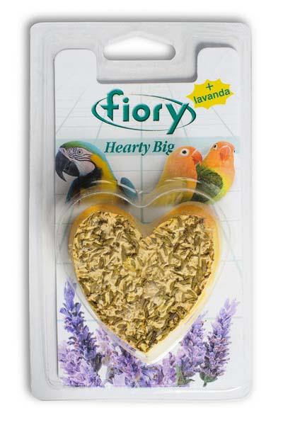 добавка для рептилий рептилайф витаминно минеральная порошок уп 30 г Био-камень для птиц Fiory Сердце, 100 г