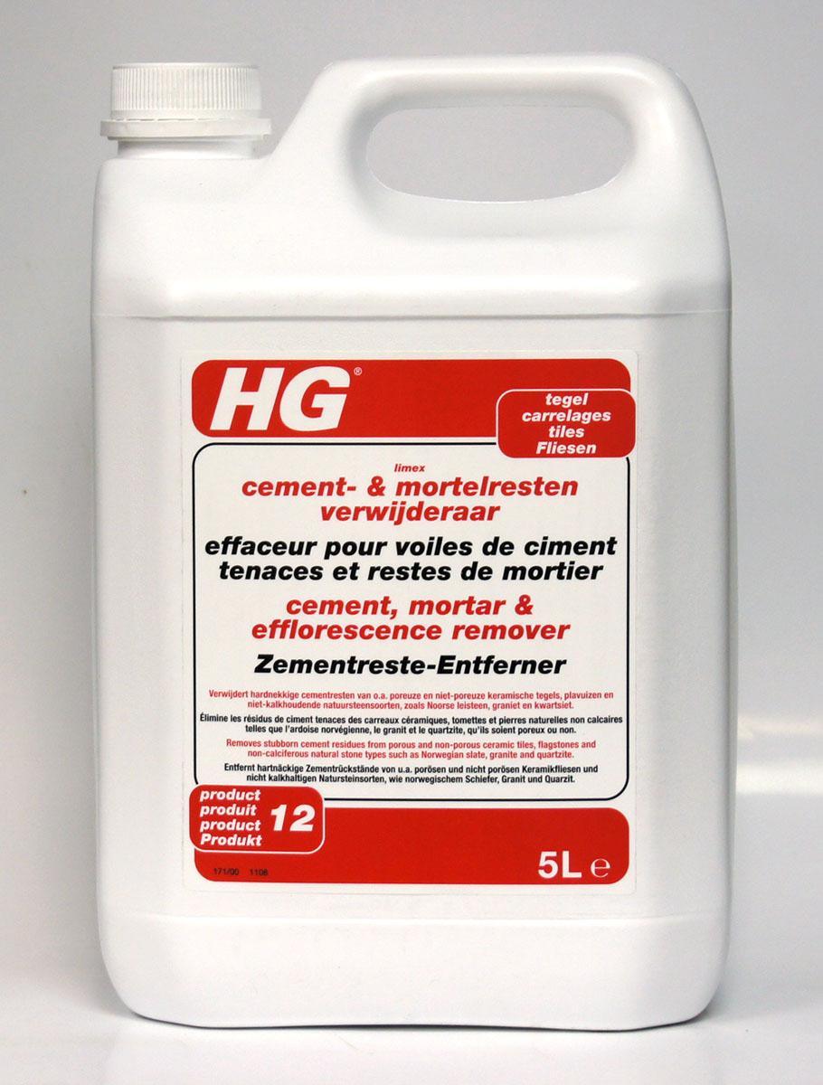 Средство HG для удаления известкового, цементного налета и пятен, 5 л - Бытовая химия
