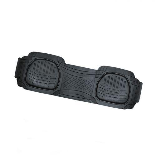 Коврик автомобильный Автопрофи / Autoprofi Transform, термопласт, цвет: черный, 51 х 166 смкн14,4сУниверсальный сдвоенный коврик для заднего ряда Автопрофи / Autoprofi Transform отличается лаконичным, но в то же время функциональным дизайном. Наличие множества насечек на поверхности коврика позволяет с помощью ножниц корректировать размер и форму изделия, адаптируя его под салон автомобиля. Коврик изготовлен из термопласта-эластомера, сохраняющего эластичность даже при экстремально низких температурах - до -50 °С. Легкий и износостойкий материал устойчив к воздействию агрессивных веществ, таких как масло, топливо или дорожные реагенты, и не обладает характерным запахом резины. Характеристики:Материал: термопласт-эластомер. Размер коврика: 510 мм х 1660 мм. Температура использования: от -50 до +50 °С. Артикул: TER-003 BK.