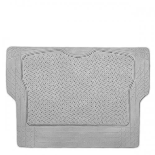 Коврик в багажник Автопрофи / Autoprofi Luxury, универсальный, морозостойкий, цвет: серый, 126,5 см х 80 см0106070101Универсальный коврик для багажника Автопрофи / Autoprofi Luxury предназначен для автомобилей классов B и C. Он изготовлен из морозостойкого термопласта-эластомера, который сохраняет эластичность до температуры -50 °С. Данный материал также отличается отсутствием характерного для резины запаха и устойчив к воздействию агрессивных веществ, таких как масло, топливо или химические реагенты. Коврик обладает высокой износостойкостью и небольшим весом, благодаря чему его несложно вытащить из багажника, очистить и уложить обратно. Насечки для разреза на поверхности коврика помогают корректировать размер и форму изделия, адаптируя его под профиль багажника. Характеристики:Материал: термопласт-эластомер. Размер коврика: 1265 мм х 800 мм. Температура использования: от -50 до +50 °С. Артикул: TER-300M GY.