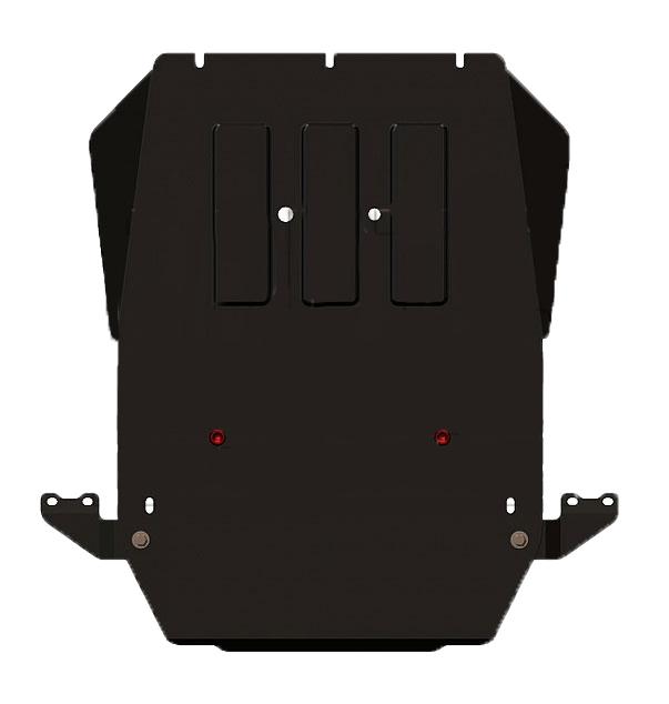 Защита для КПП и РК Sheriff Ssang Yong KyronIRK-503Защитные устройства необходимы для каждого автомобиля, они позволяют предотвратить механические повреждения картера, коробки передач, редукторов и др. Установка защиты Sheriff на агрегаты автомобиля, которые могут получить повреждения от частиц дорожного покрытия или других твердых предметов, позволяет продлить срок эксплуатации автомобиля, увеличить его межремонтный ресурс. При этом все защитные устройства Sheriff на картер, КПП, радиатор, редуктор отличаются высоким качеством изготовления, надежностью и долговечностью.
