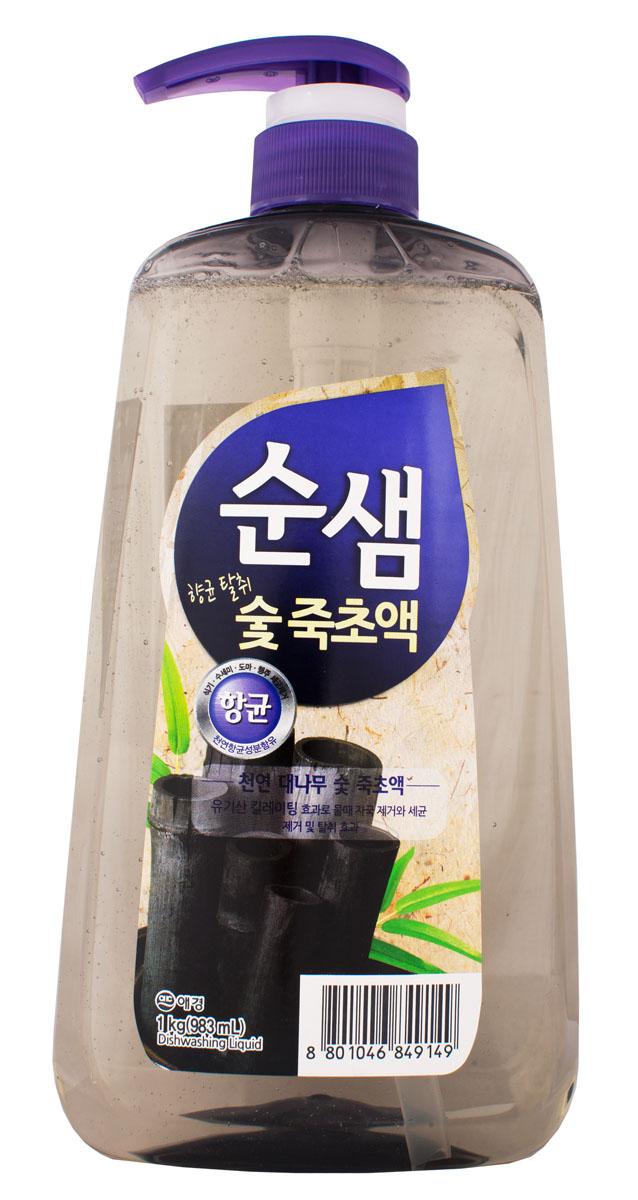 Средство для мытья посуды Soonsaem Бамбуковый уголь, 1 л790009Средство для мытья посуды Soonsaem Бамбуковый уголь имеет следующие особенности: - антибактериальное - удаляет болезнетворные бактерии, микробы и неприятные запахи; - не содержит искусственных красителей; - не оставляет разводов (идеально для мытья посуды из стекла); - подходит для мытья фруктов и овощей; - является средством для мытья посуды высшей категории.Товар сертифицирован.