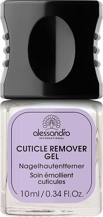 Alessandro Гель для удаления кутикулы Cuticle Remover Gel, 10 млZP555Гель Alessandro Cuticle Remover Gel деликатно удаляет кутикулу. Уникальный состав снимает раздражение, защищает от воспалений и смягчает кожу.Применение: нанести равномерно вдоль складок ногтя, оставить на 3-5 минут, с помощью специальной лопатки аккуратно отсоединить, а затем убрать кутикулу с поверхности ногтевой пластины. Характеристики:Объем: 10 мл. Артикул: 03-022. Производитель: Чехия. Товар сертифицирован.
