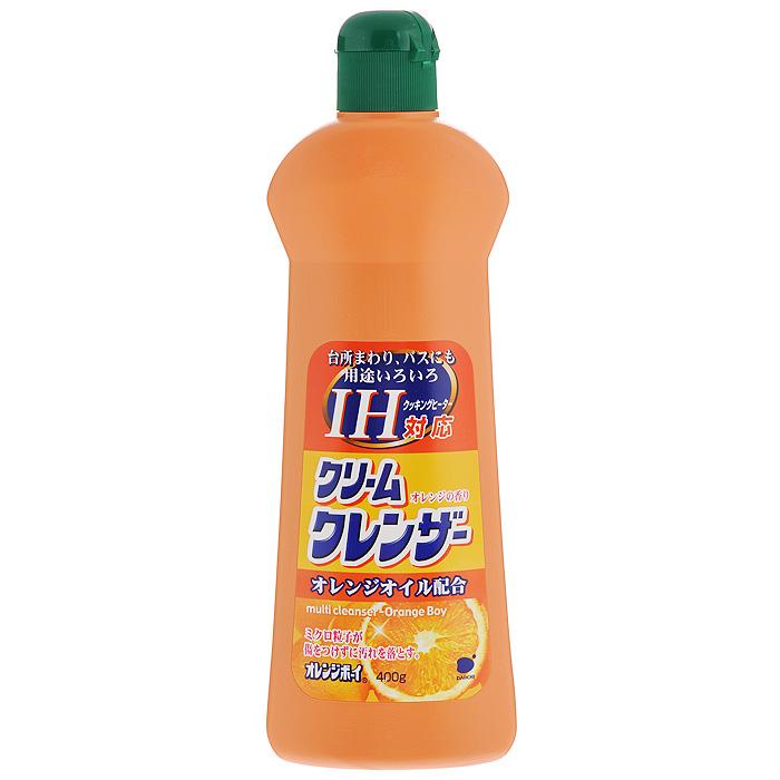 Чистящее средство для кухни Daiichi Оранж Бой, с апельсиновым маслом, 400 г787502Кремообразное чистящее средство для кухни Daiichi Оранж Бой благодаря входящим в состав продукта очищающим микрочастицам прекрасно удаляет въевшуюся, прилипшую или пригоревшую грязь. Не оставляет царапин. Крем отлично очищает различные загрязнения, масляные пятна, следы грязных рук и удаляет бактерии. Содержит апельсиновое масло. Применяется как на кухне, так и в комнате. Подходит для чистки раковин и ванн (нержавеющей, эмалевой, кафелевой, фаянсовой), микроволновых, газовых и электрических плит, духовок, бытовых приборов, изделий из хрома, кафеля, полов. Идеально подходит для эмалевых и стеклокерамических покрытий. Не применять для изделий из пластика, фарфора, драгоценных металлов. Перед применением внимательно прочтите способ использования и меры предосторожности. Характеристики: Вес: 400 г. Артикул: 537672. Товар сертифицирован.