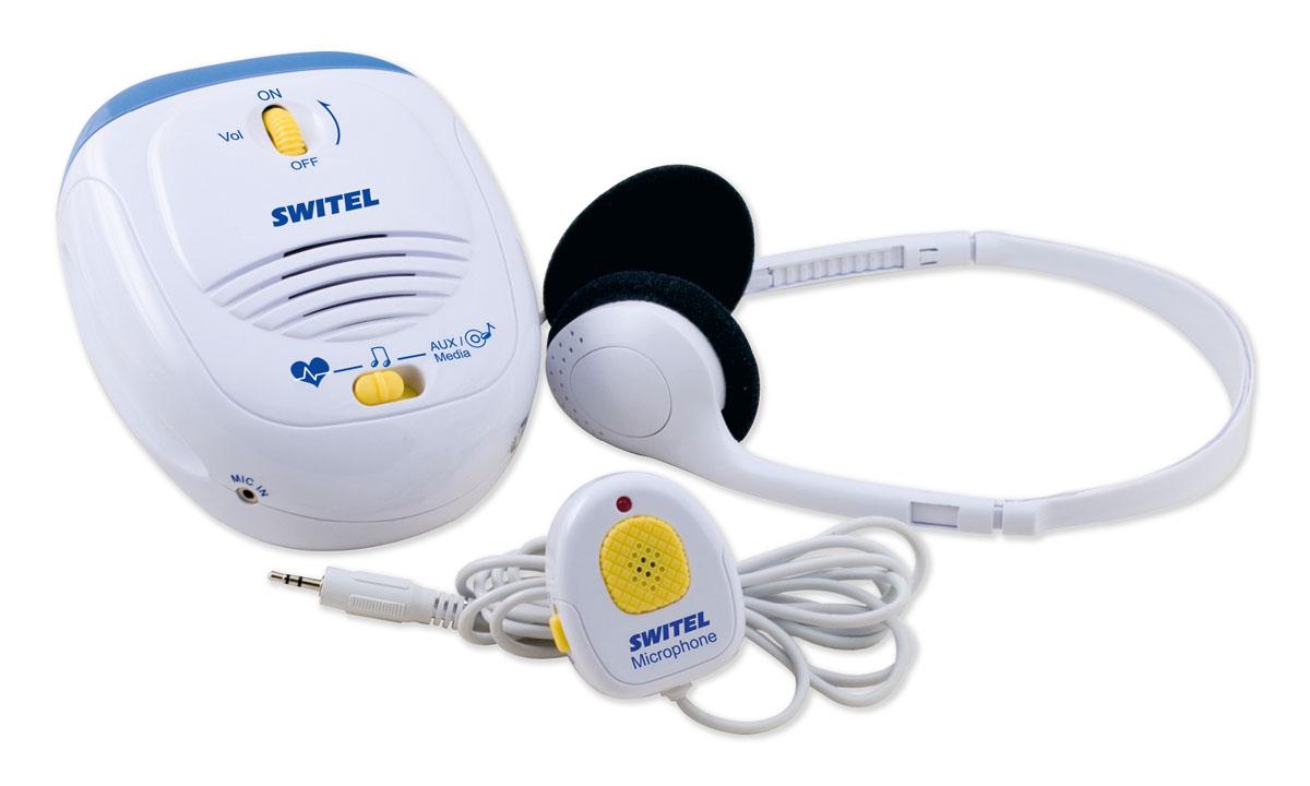 Электронный стетоскоп для будущей мамы Switel BH170000 000 00274Прислушайтесь к звукам который издает малыш в утробе матери. Благодаря этому замечательному устройству уже с пятого месяца родители могут услышать, как бьется его сердечко, как он толкается или икает. Вы можете оставить себе на память все эти неповторимые моменты самого близкого общения, записав все звуки с помощью стетоскопа для будущей мамы Switel BH170.Исследования ученых подтверждают, что новорожденные могут помнить голоса, которые он слышал еще в утробе матери. С помощью электронного стетоскопа для будущей мамы вы можете поговорить с малышом, рассказать ему историю или почитать его первую книжку. Так ваш малыш еще до рождения начнет привыкать к голосам родителей и родных людей. Включите ребенку спокойную классическую музыку, которая может благоприятно влиять на его будущее развитие речи, моторику и восприятие мира.В комплект стетоскопа входит:электронный стетоскоп;наушники (1 пара);соединительный шнур. Характеристики: Материал: металл, пластик. Размеры устройства: 9,7 см x 11,6 см x 5,7 см. Питание: 3 батарейки типа АА (не входит в комплект). Размер упаковки: 22 см х 23 см х 7 см.