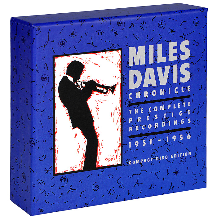 Майлз Дэвис Miles Davis. Chronicle. The Complete Prestige Recordings 1951-1956 (8 CD) fantasy inc prestige records