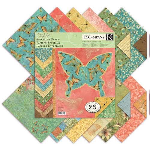 Набор бумаги для скрапбукинга K&Company Секреты природы, 31 см х 31 см, 28 листовRSP-202SНабор бумаги для скрапбукинга K&Company позволит создать красивый альбом, фоторамку или открытку ручной работы, оформить подарок или аппликацию. Набор включает 28 листов из плотной бумаги с двухсторонней печатью, всего 14 видов. Из них 16 листов матовые, 6 листов с блестками, 2 листа блестящие, 2 листа с тиснением фольгой. Бумага не содержит лигнин и кислоты. Скрапбукинг - это хобби, которое способно приносить массу приятных эмоций не только человеку, который этим занимается, но и его близким, друзьям, родным. Это невероятно увлекательное занятие, которое поможет вам сохранить наиболее памятные и яркие моменты вашей жизни, а также интересно оформить интерьер дома. Характеристики: Материал: бумага. Дизайн: Susan Winget. Размер листа: 31 см х 31 см. Количество листов: 28. Размер упаковки: 31 см х 32,5 см х 0,7 см. Артикул: KCO-30-389236.