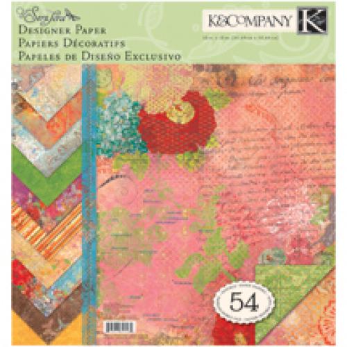 Набор бумаги для скрапбукинга K&Company Яркость. Парижский шик, 31 х 31 см, 54 листаC0042416Набор бумаги для скрапбукинга K&Company позволит создать красивый альбом, фоторамку или открытку ручной работы, оформить подарок или аппликацию. Набор включает 54 листа из плотной бумаги с двухсторонней печатью, всего 18 видов. Бумага не содержит лигнин и кислоты.Скрапбукинг - это хобби, которое способно приносить массу приятных эмоций не только человеку, который этим занимается, но и его близким, друзьям, родным. Это невероятно увлекательное занятие, которое поможет вам сохранить наиболее памятные и яркие моменты вашей жизни, а также интересно оформить интерьер дома. Характеристики: Материал: бумага. Размер листа: 31 см х 31 см. Количество листов: 54. Размер упаковки: 31 см х 32,5 см х 1 см. Артикул: KCO-625532.