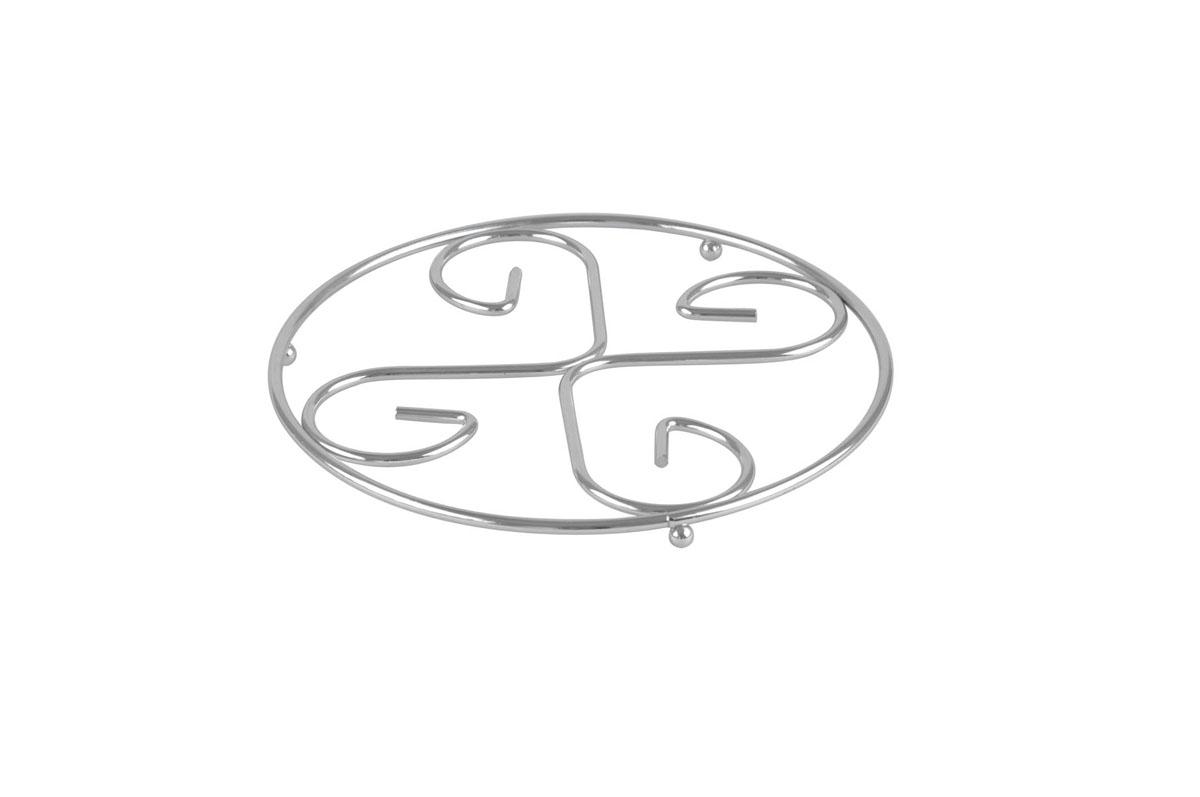 Подставка под горячее Bekker, диаметр 21 см. BK-3061115510Круглая подставка под горячее Bekker изготовлена из нержавеющей стали. Изделие предназначено для защиты поверхности стола от высоких температур.Характеристики:Материал: нержавеющая сталь. Диаметр: 21 см. Производитель: Германия. Изготовитель: Китай.Артикул: BK-3061.