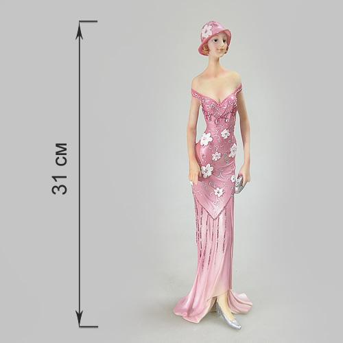 Статуэтка Дама с клатчем, высота 31 смTHN132NСтатуэтка Дама с клатчем, выполненная из полистоуна, станет отличным украшением интерьера вашего дома или офиса. Статуэтка выполнена в виде дамы в розовом платье и с клатчем в руках.Вы можете поставить статуэтку в любом месте, где она будет удачно смотреться, и радовать глаз. Также она может стать оригинальным подарком для всех любителей стильных вещей. Характеристики:Материал: полистоун. Размер статуэтки (Ш х Д х В): 9,5 см х 9 см х 31ячсм. Размер упаковки: 35,5 см х 11 см х 11 см. Артикул: 514-949.