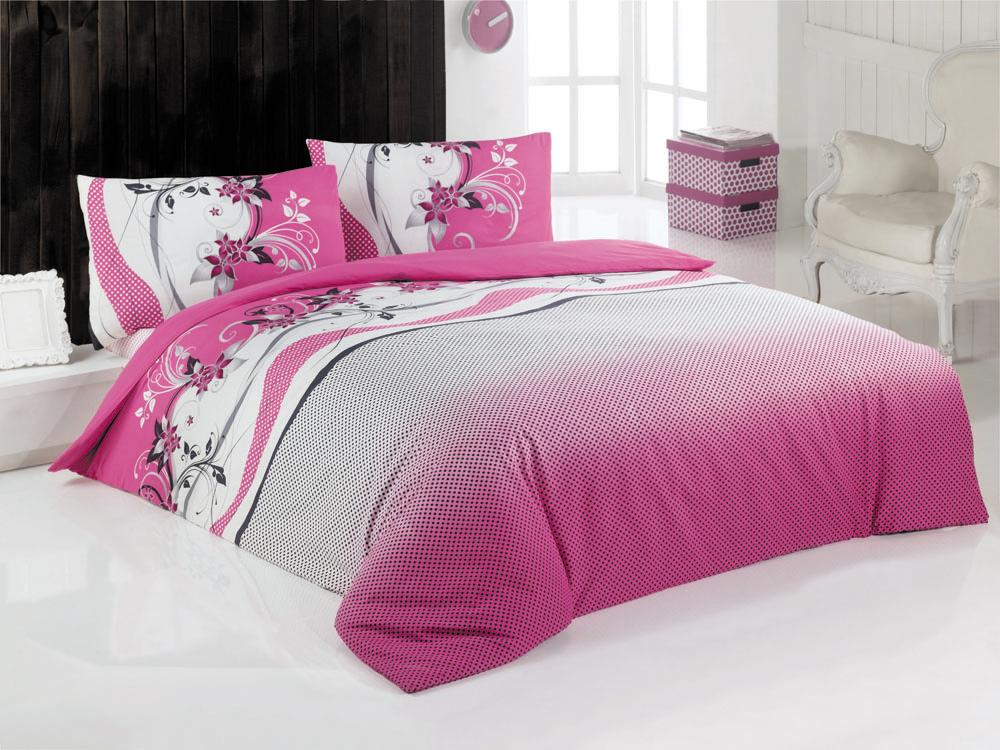 Комплект белья Gypsy (1,5 спальный КПБ, ранфорс, наволочка 50х70), цвет: бело-розовыйCLP446Комплект постельного белья Gypsy, изготовленный из ранфорса высокого качества, поможет вам расслабиться и подарит спокойный сон. Комплект состоит из одного пододеяльника, простыни и одной наволочки.Комплект постельного белья Gypsy обладает ярким современным дизайном, оформлен цветочным принтом в бело-розовой гамме.Белье сшито из ранфорса, материала, очень мягкого и приятного на ощупь. К тому же он обладает отличными гигроскопичными, антистатичными и гипоаллергенными свойствами. Ранфорс - это удивительный материал. Летом в таком постельном белье будет прохладно, а зимой оно, наоборот, хорошо сохранит тепло вашего тела.Все белье Issimo - это образец качества. Ровные швы, качественный хлопок, четкие рисунки на тканях, которые не полиняют и не потеряют яркости долгое время - все это говорит о строгом отношении производителя к своей продукции. Характеристики: Цвет: бело-розовый. Материал: поверхностная плотность- 145 ТС. плетение: ранфорс. состав: 100%хлопок. метод нанесения рисунка: ротационный принт, маленькая фирменная вышивка Issimo. нить: 30/1 Carde. Размер упаковки: 52 см х 33 см х 5 см. В комплект входят: Пододеяльник - 1 шт. Размер: 160 см х 220 см. Простыня - 1 шт. Размер: 160 см х 240 см. Наволочка - 2 шт. Размер: 50 см х 70 см.