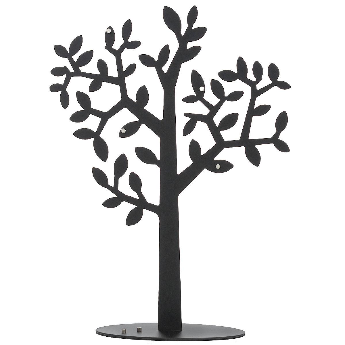 Держатель для фото Umbra Laurel, цвет: черный. 306600-04074-0120Держатель для фото Umbra Laurel станет не только прекрасным декоративным украшением стола, но и послужит функционально: поместите в держатель вашу любимую фотографию, и она будет радовать вас каждый день, напоминая о приятных мгновениях. Держатель выполнен из металла в виде дерева. Такой сувенир, несомненно, доставит море положительных эмоций своему обладателю. Общий размер держателя: 41 см х 29 см x 4 см.