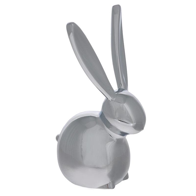 Подставка для колец Zoola Кролик12723Оригинальная подставка для колец Кролик выполнена из металла с зеркальной полировкой. Подставка-держатель выполнена в виде кролика, на ушки которого нанизываются кольца. Подставка для колец Кролик благодаря своей практичности и необычности станет не только идеальным подарком представительнице прекрасного пола, но и изысканным украшением интерьера. Размер подставки: 3,5 см х 7 см х 3 см.