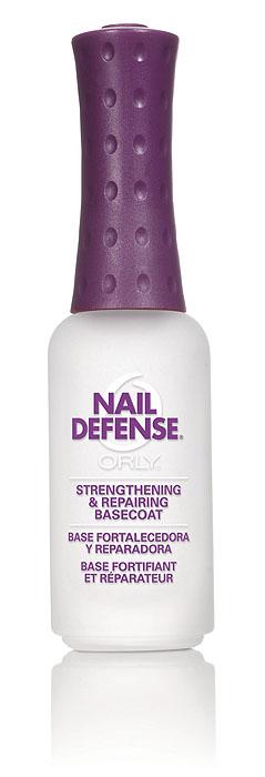 Orly Покрытие для слоящихся ногтей Nail Defense, 9 млB2200603Обогащенная белком формула покрытия Orly Nail Defense обеспечивает защиту и укрепление ногтевой пластины. Стимулирует рост крепких ногтей, предотвращая их расслаивание. Протеин, который входит в состав препарата, осуществляет склеивание чешуек ногтей между собой, а также запечатывание свободного края для предотвращения его расслаивания.Способ применения: если ногти слоятся очень сильно, то первые 2 недели наносить через день послойно. В дальнейшем использовать как базу и верхнее покрытие в течение 2-3 месяцев. Характеристики:Объем: 9 мл. Артикул: 44422. Производитель: США. Товар сертифицирован.Состав: этилацетат, бутилацетат, нитроцеллюлоза, SDА-40В, гептан, изопропил, пропилацетат, гликолевый сополимер, этилтосиламид, триметил пентанил диизобутират, камфара, бензофенон-1, диметикон, поливинил бутирал, токоферил ацетат (витамин А), сафлоровое масло, экстракт мелиссы, экстракт конского каштана, экстракт ромашки, пантофенат кальция, гидролизованный протеин пшеницы, краситель.