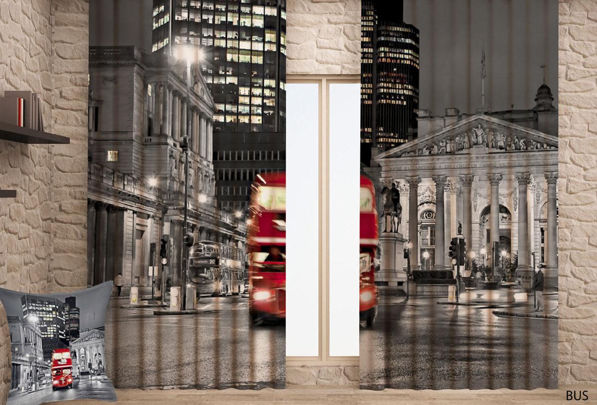 Штора готовая с цифровой печатью Garden Ночной город, на ленте, 150 х 270 см, 2 шт. 0001CIRK-503Штора готовая Garden, включает в себя две шторы с цифровой печатью в виде ночного города. Шторы изготовлены из полиэстера с гладкой блестящей лицевой поверхностью. Лицевая сторона гладкая с легким блеском, изнаночная матовая. Оригинальный дизайн и цветовая гамма украсят любое окно и привлекут к себе внимание, необычным дизайном. Шторы крепятся на карниз при помощи вшитой шторной ленты, которая поможет красиво и равномерно задрапировать верх. Характеристики:Материал: 100% полиэстер.Комплектация: 2 полотна. Размер (Ш х В): 145 см х 270 см.Размер упаковки: 33 см х 25 см х 5 см.