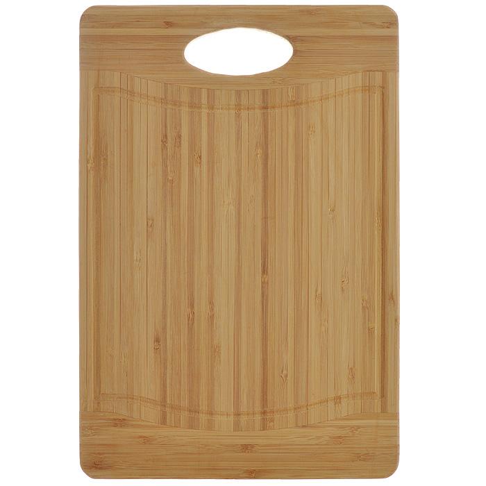 Доска кухонная Flutto, 36,5 х 25 х 1,5 см FB-M54 009312Доска кухонная Flutto изготовлена из бамбука. Прекрасно подходит для приготовления и сервировки пищи. Всем известно, что на кухне без разделочной доски не обойтись! Ведь во время приготовления пищи мы то и дело что-то режем. Поэтому разделочная доска должна быть изготовлена из прочного и экологически чистого материала, ведь с ней соприкасается наша пища. Характеристики:Материал: бамбук. Размер: 36.5 см х 25 см х 1,5 см. Производитель: Германия. Артикул: FB-M.