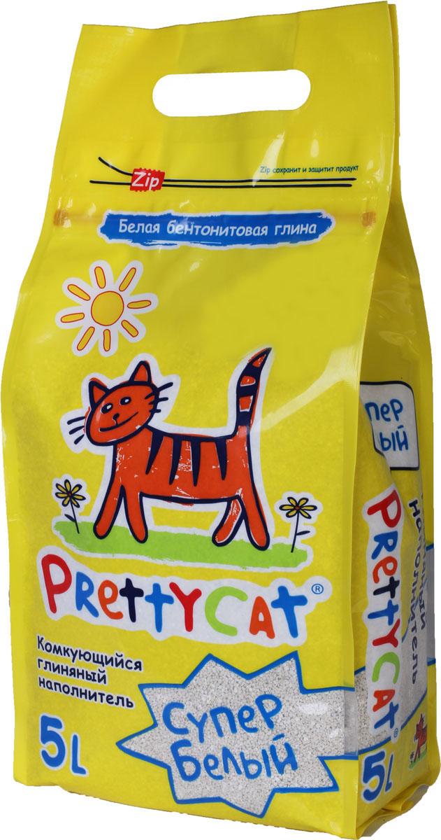 Наполнитель для кошачьих туалетов PrettyCat Супер белый, комкующийся, 5 л. 620024620024Наполнитель для кошачьих туалетов PrettyCat Супер белый - это 100% натуральный комкующийся наполнитель. Изготовлен из белой бентонитовой глины, лучшего европейского качества. Впитывает до 400% влаги, прекрасно комкается в идеально ровные шарики. Уничтожает запахи и обеспечивает двойное обеспыливание. Характеристики: Материал: белая бентонитовая глина. Объем: 5 л. Диаметр гранул: 0,6 - 1,7 мм. Размер упаковки: 18 см х 9 см х 38 см. Артикул: 620024.