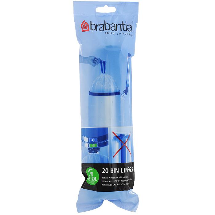 Пакеты для мусора Brabantia, 23-30 л, 20 шт531-105Одноразовые пакеты Brabantia, выполненные из пластика, предназначены для мусорного бака. Предотвращают загрязнение бака, удобны в использовании. Затяжная лента позволяет быстро и легко сменить пакет для мусора: просто потяните за ленту, она аккуратно запечатает горловину мешка и превратится в крепкие ручки. Пакеты имеют универсальный размер и подходят для баков различных объемов (от 23 л до 30 л). Характеристики: Материал: пластик. Объем мешка: 23-30 л. Комплектация: 20 шт. Артикул: 246265. Гарантия производителя: 5 лет.