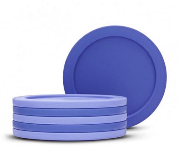 Набор подставок под стаканы Brabantia, 6 шт. 62104854 009312Набор подставок под стаканы Brabantia выполнены из пластика, дополнят интерьер любой кухни, привнеся в нее атмосферу уюта, и станут отличным подарком. Характеристики: Материал: пластик. Цвет: синий. Диаметр подставок: 9,5 см. Артикул:621048. Гарантия производителя: 5 лет.