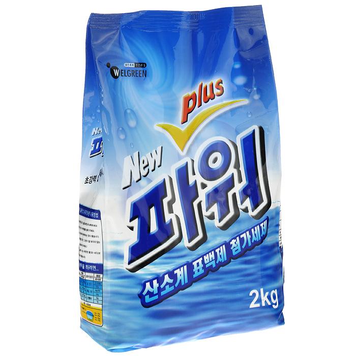 Стиральный порошок Welgreen New Power Plus, с тотолазой, 2 кг391602Стиральный порошок Welgreen New Power Plus подходит для всех типов ткани, кроме шерсти и шелка. Содержит комплекс ферментов Тотолазу (протеаза, липаза, амилаза, целлюлаза), которые удаляют разные виды загрязнений, в том числе белки и жиры. Превосходно стирает и отбеливает в холодной воде. Содержит кислородный и оптический отбеливатель для эффективного и бережного отбеливания цветных и белых тканей с эффектом кипячения. Мало пенится, что позволяет экономить воду и время при полоскании. Содержит кондиционер для белья. В 4-6 раз экономичнее обычных стиральных порошков.Подходит для всех типов стиральных машин и ручной стирки. Характеристики: Вес: 2 кг.Состав: карбонат натрия, сульфат натрия, натрий алюмосиликат, L.A.S., доломит, C.O.P., LE-7, метанатриевый силикат, жирная кислота кокосового ореха, бентонит, тотолаза, C.M.C., отдушка, краситель, оптический отбеливатель. Артикул: 301020. Товар сертифицирован.