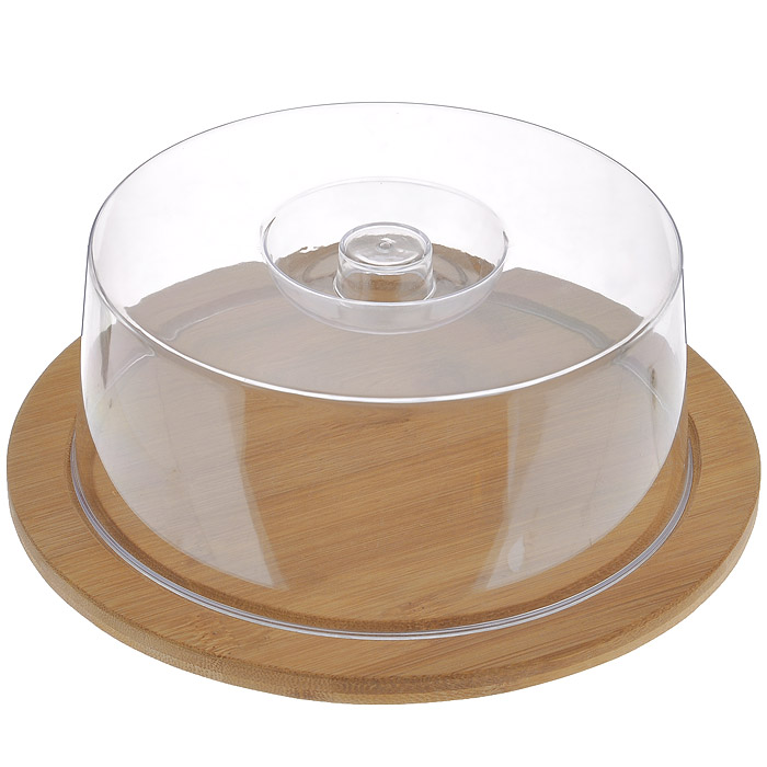 Доска разделочная Hans & Gretchen с крышкой, круглая, цвет: темно-бежевый, диаметр 23 см68/5/4Круглая разделочная доска Hans & Gretchen изготовлена из высококачественной древесины. Высокая плотность и большая прочность материала обеспечивает износостойкость и долговечность. Изделие не деформируется при длительном использовании, не впитывает запахи. Обладает водоотталкивающими свойствами. Края доски снабжены желобками для стока жидкости, на них также устанавливается прозрачная пластиковая крышка. Благодаря такой крышке нарезанные продукты можно хранить прямо на доске, не перекладывая в отдельную емкость. При необходимости доску можно использовать для сервировки некоторых блюд, например, суши. Подходит для хранения пищи в холодильнике. Удобная многофункциональная разделочная доска займет достойное место среди аксессуаров на вашей кухне. Характеристики:Материал: дерево, пластик. Цвет: темно-бежевый. Диаметр доски: 23 см. Толщина доски: 1 см. Высота крышки: 7,5 см. Артикул: 9031.