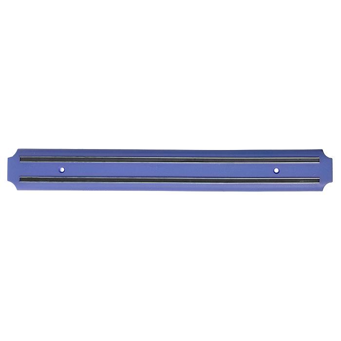 Держатель магнитный Atlantis настенный, 38 см. 1856011-EKВетерок 2ГФМагнитный держатель Atlantis изготовлен из нержавеющей стали и пищевого пластика. Предназначен для домашнего использования и займет достойное место среди аксессуаров на вашей кухне. Не рекомендуется мыть в посудомоечной машине. Характеристики:Материал:нержавеющая сталь, пластик. Цвет: синий. Размер держателя:38 см х 5 см х 1,5 см. Артикул:1856011-EK.