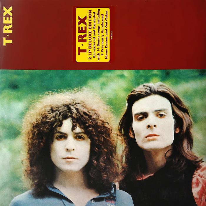 T. Rex T. Rex T. Rex. Deluxe Edition (2 LP) элтон джон elton john goodbye yellow brick road deluxe edition 2 cd