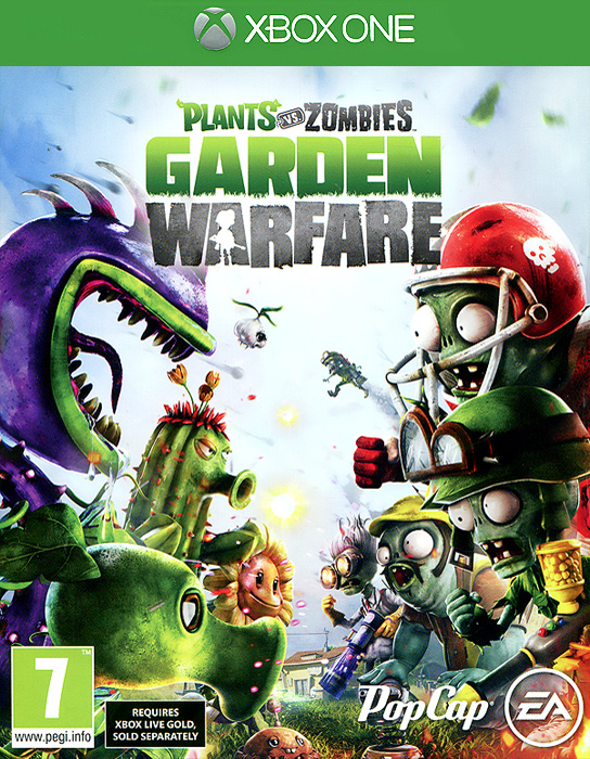 Plants vs. Zombies: Garden Warfare (Хbox One) консилер catrice conceal and care stick 020 цвет 020 sand variant hex name f9d5b8