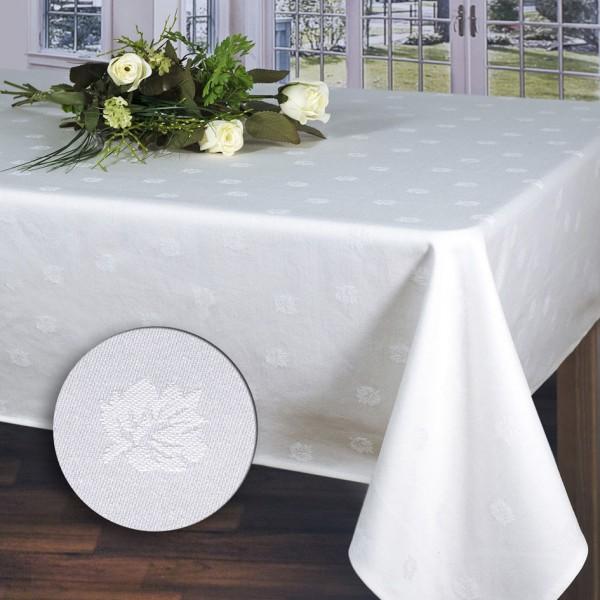 Скатерть Schaefer, прямоугольная, цвет: белый, 130x190 см. 07362-434VT-1520(SR)Великолепная скатерть Schaefer прямоугольной формы, выполненная из полиэстера, органично впишется в интерьер любого помещения, а оригинальный дизайн удовлетворит даже самый изысканный вкус. Скатерть изготовлена из хлопка белого цвета, жаккардовый рисунок настолько не броский, что делает эту вещь изысканной и очень нежной и обладает жироводооталкивающими свойствами.Это текстильное изделие станет удобным и оригинальным украшением вашего дома! Характеристики: Материал: 100% хлопок. Размер: 130 см х 190 см. Цвет: белый.