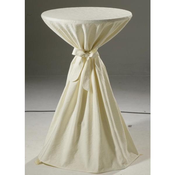 Скатерть Schaefer, круглая, цвет: шампань, диаметр 170 см. 412710503Великолепная скатерть Schaefer, выполненная из полиэстера и хлопка, органично впишется в интерьер любого помещения, а оригинальный дизайн удовлетворит даже самый изысканный вкус. Скатерть изготовлена из материала цвета шампань с объемным орнаментом и обладает жироводооталкивающими свойствами.Это текстильное изделие станет удобным и оригинальным украшением вашего дома! Характеристики: Материал: 30% полиэстер, 70% хлопок. Диаметр: 170 см. Цвет: шампань.