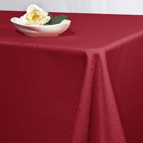 Скатерть Schaefer, прямоугольная, цвет: красный, 130x 190 см. 417025894Великолепная скатерть Schaefer, выполненная из полиэстера, органично впишется в интерьер любого помещения, а оригинальный дизайн удовлетворит даже самый изысканный вкус. Скатерть изготовлена из материала красного цвета с орнаментом и обладает жироводооталкивающими свойствами.Это текстильное изделие станет удобным и оригинальным украшением вашего дома! Характеристики: Материал: 100% полиэстер. Размер: 130 см х 190 см. Цвет: красный.