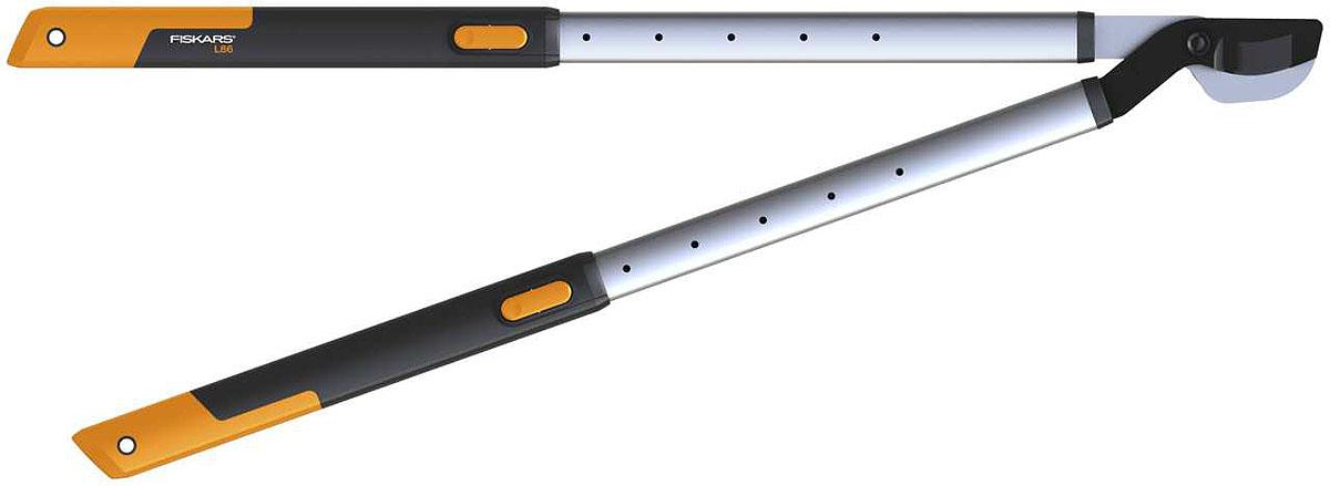 Сучкорез телескопический Fiskars, 66,5-91,5 см113680Линейка режущих инструментов Fiskars SmartFit - удобное дополнение к вашему набору садового инвентаря. С помощью телескопического сучкореза, ножниц для живой изгороди и плоскостного секатора вы можете выполнять все основные операции по обрезке вашего сада. Регулируемая длина ручек гарантирует оптимальный рабочий диапазон. Легкий сучкорез, комфортно лежит в руках. Подходит для обрезки как ветвей плодовых деревьев, так и низкорослых кустарников