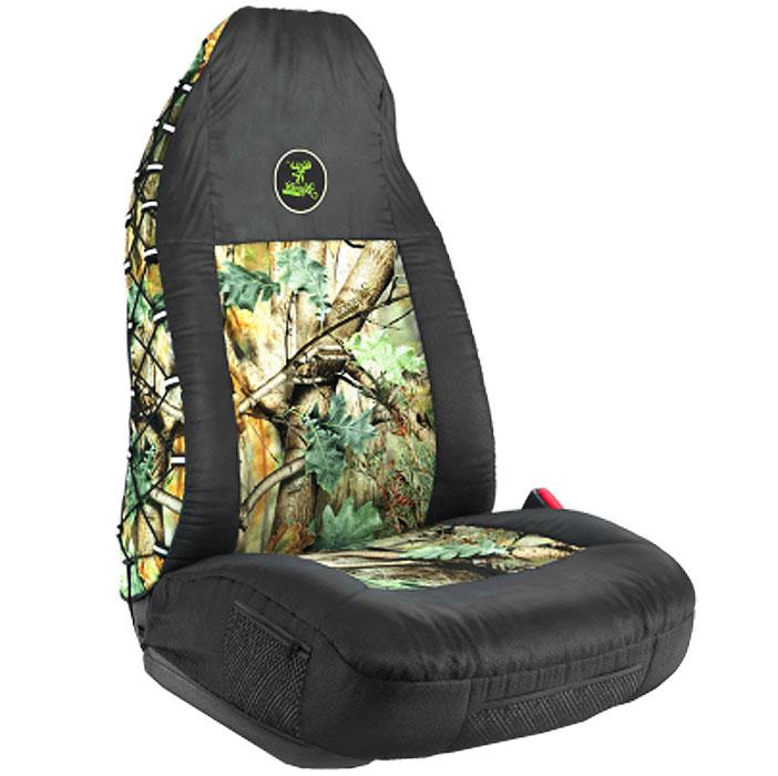 Чехол на переднее сиденье Зверобой, универсальный, с литым подголовником. ZV/CHE-0100 SGAZ-003 BK/GYУниверсальный чехол на переднее сиденье Зверобой выполнен из брезентовой ткани с расцветкой летний камуфляж. Аксессуар можно использовать с автомобильными креслами, оснащенными любыми типами подголовников - как литыми, так и съемными. Практичный и долговечный, чехол надежно защищает сиденье от механических повреждений, износа и загрязнений. Позволяет удобно разместить под рукой необходимые в дороге вещи:по бокам на сиденье - по одному небольшому сетчатому кармашку на застежке-молнии;спереди сиденья - сетчатый карман на липучке;на спинке - сверху: двойной сетчатый кармашек с петельками и металлическим карабином; посередине: большой нашивной карман, закрывающийся клапаном на пластиковый карабин, и сетчатый кармашек, нашитый на лицевую часть большого кармана.Сбоку чехол оснащен шнуровкой, на петлях которой имеются светоотражающие элементы. Комплектация: - 1 чехол на переднее сиденье,- карабин,- набор фиксирующих крючков.Особенности: Практичный камуфляж ЗверобойКарманы в спинках передних сидений - 3Использование с боковыми airbagШирина чехла (по соединительному шву спинки с сиденьем): 53 см.Высота спинки (по лицевой стороне): 79 см.Длина сиденья: 51,5 см.Высота боковой части сиденья: 16 см.Ширина боковой части спинки: 11,5-24 см.