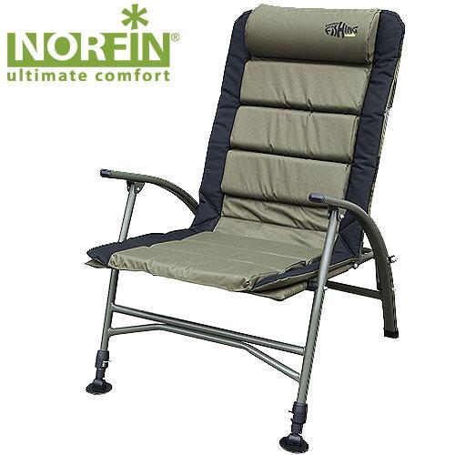 Кресло карповое Norfin Belfast NFTA-570Кресло складное Norfin Belfast NF. Передние ножки с возможностью независимой регулировки высоты и широкими опорами, удобный мягкий подголовник, легкоскладывается и переносится. Отличный выбор для рыбаков. Характеристики: Материал: полиэстер, ПВХ, алюминий. Размер кресла: 54 см х 47 см х 42/99 см. Размер кресла в сложенном виде: 92 см х 67 см х 22 см. Максимальная нагрузка: 140 кг. Диаметр трубок каркаса: 1,8 см, 2,2 см.