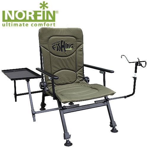 Кресло рыболовное Norfin Windsor NFKOC2028LEDКресло складное Windsor NF. Регулируемый наклон спинки, ножки с возможностью независимой регулировки высоты и широкими опорами. Кресло оборудовано небольшим столиком и держателем для удочек. Отличный выбор для рыбаков. Характеристики: Материал: полиэстер, алюминий. Размер кресла: 53 см х 60 см х 36 см/90 см. Размер кресла в сложенном виде: 60 см х 18 см х 40 см. Максимальная нагрузка: 200 кг.
