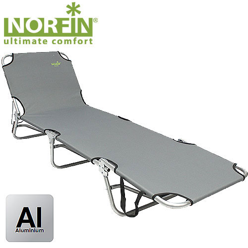 Кровать складная Norfin Espoo NFперфорационные unisexКровать-раскладушка складная Norfin Espoo NF классическая с алюминиевым каркасом. В сложенном виде она не занимает много места, поэтому отлично подойдет для отдыха на природе. С обратной стороны стягивающие резинки через каждые 20 см.Характеристики: Материал: TX 1 x 1, алюминий. Размер кровати: 190 см х 58 см х 25 см. Размер кровати в сложенном виде: 49 см х 58 см х 20 см. Максимальная нагрузка: 120 кг. Диаметр трубок каркаса: 2,2 см.