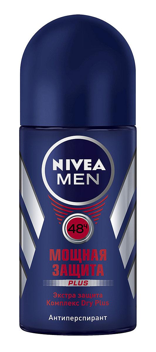 NIVEA Антиперспирант шарик Мощная защита 50 млSatin Hair 7 BR730MNМужской дезодорант-антиперспирант Nivea for Men Мощная защита с минералами регулирует потоотделение в течение всего дня.Эффективная защита на 24 часа.Легкий мужской аромат.Не содержит спирт. Характеристики: Объем: 50 мл. Производитель: Германия. Артикул: 81610. Товар сертифицирован.