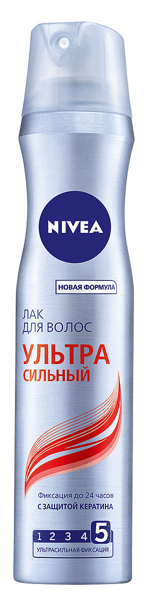 NIVEA Лак для волос «Ультра Сильный» 250 млMP59.4DЛак для волос Nivea Hair Care Ультра сильный с ультрасильной фиксацией придает волосам заметный блеск. Надежно фиксирует на протяжении всего дня. Сохраняет волосы мягкими и эластичными. Характеристики: Объем: 250 мл. Производитель: Германия. Артикул: 86803. Товар сертифицирован.
