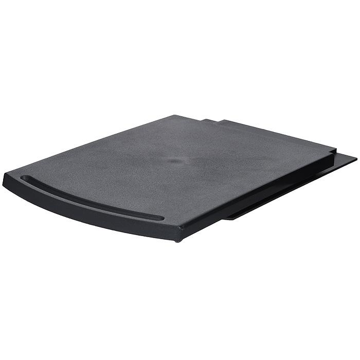 Подставка для электроприборов Bradex Слайдер, цвет: черныйFS-36052Подставка Bradex Слайдер, выполненная из черного пластика, состоит из верхнего подноса и нижней части с выступом. Она предназначена для легкого доступа к электроприборам, имеющимся на вашей кухне. Вы можете поставить ее под любой кухонный шкаф или полку, а затем поместить на Слайдер электрический чайник, кофеварку, блендер, соковыжималку и любой другой кухонный электроприбор. Если вам понадобится электрочайник или кофеварка, то достаточно просто потянуть верхнюю часть подставки на себя, и он моментально окажется у вас под рукой. Характеристики: Материал: пластик. Цвет: черный. Размер подставки (в сложенном виде): 30 см х 21,5 см х 2 см. Размер подставки (в разложенном виде): 52 см х 21,5 см х 2 см. Размер упаковки: 30,5 см х 22 см х 3 см. Артикул: TK 0046.